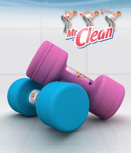 Packaging Mr.Clean